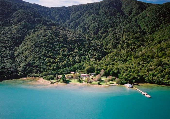 The Furneaux Lodge in New Zealand