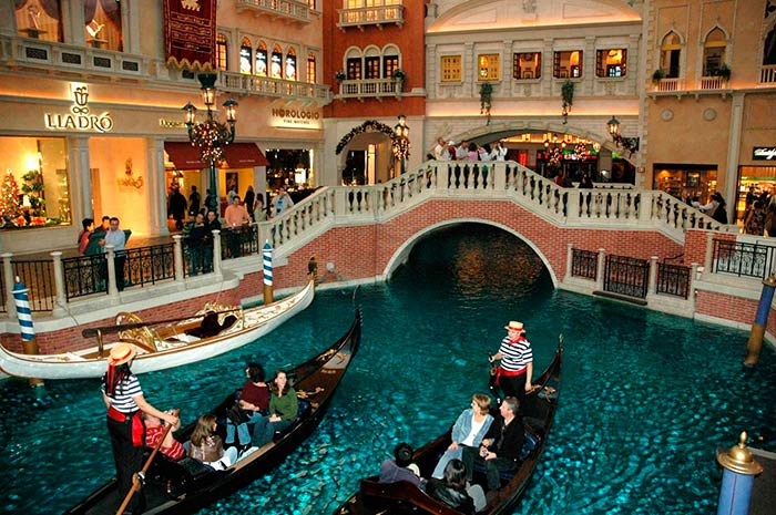 The Grand Canal Shoppes, Las Vegas, USA