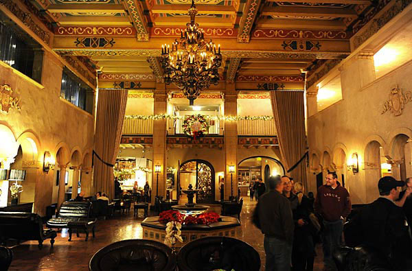 The Hollywood Roosevelt Hotel in Los Angeles, California, USA
