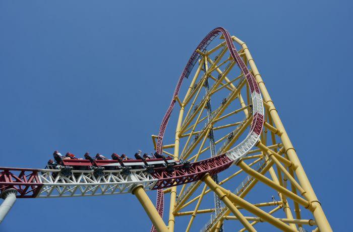 Top Thrill Dragster, Cedar Point, Ohio
