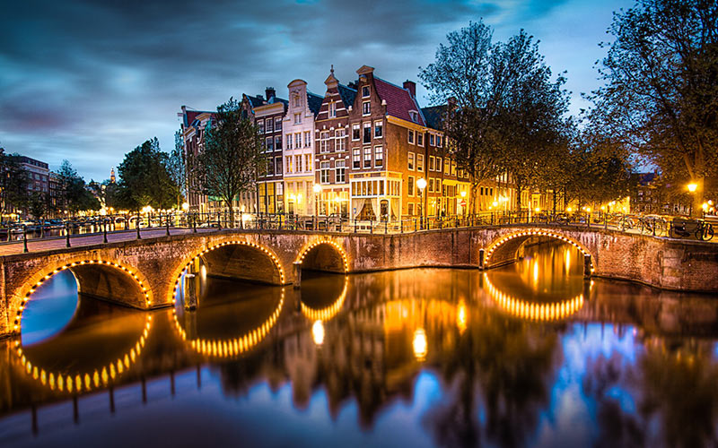 Cheering Yourself in Amsterdam