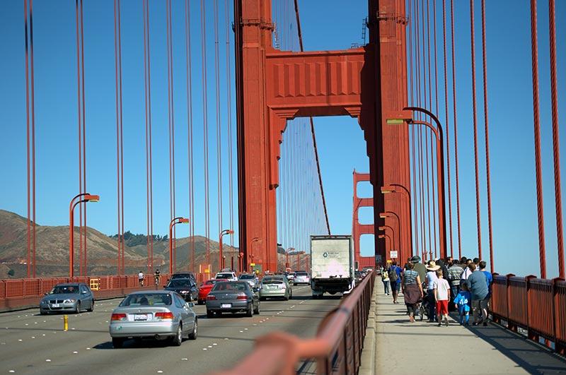 A Walk on the Golden Gate Bridge