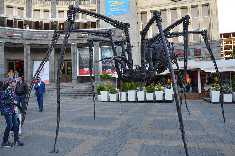moscow cinema spider Yerevan