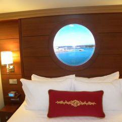 Disney Dream Sofa Bed Next Elliot Corner Cabins And Suites Inside Have A Video Porthole That Shows Outside The Ship
