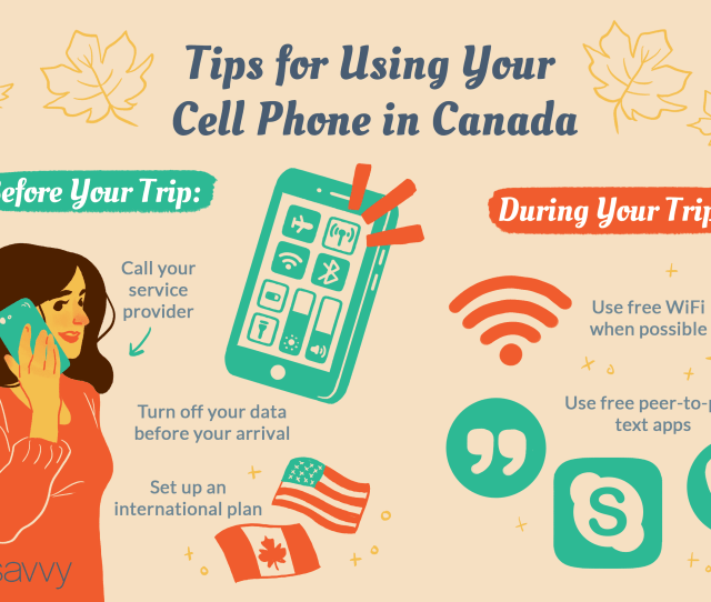 Tips For Using Your Cellphone In Canada