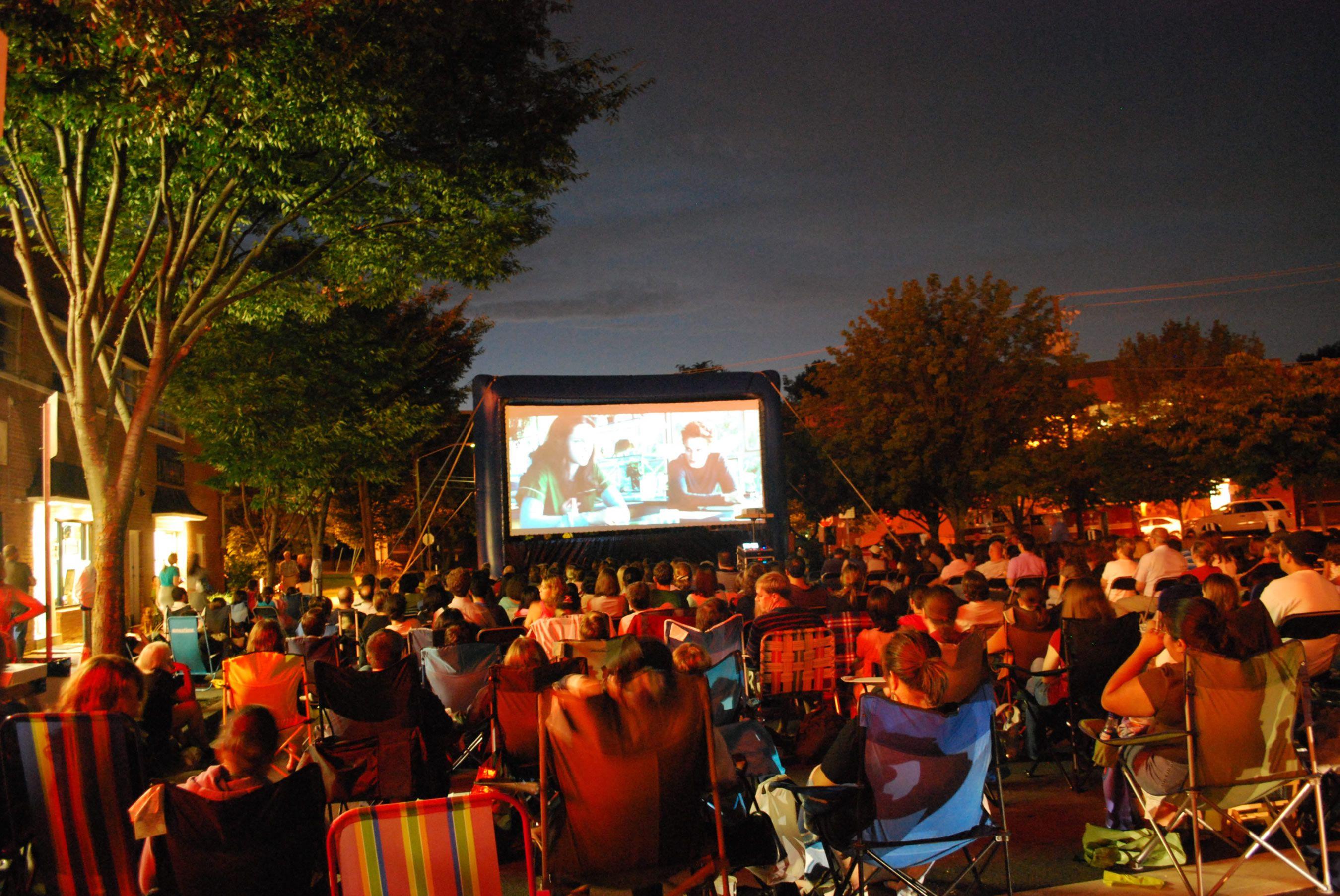 Bethesda Outdoor Movies Summer 2017