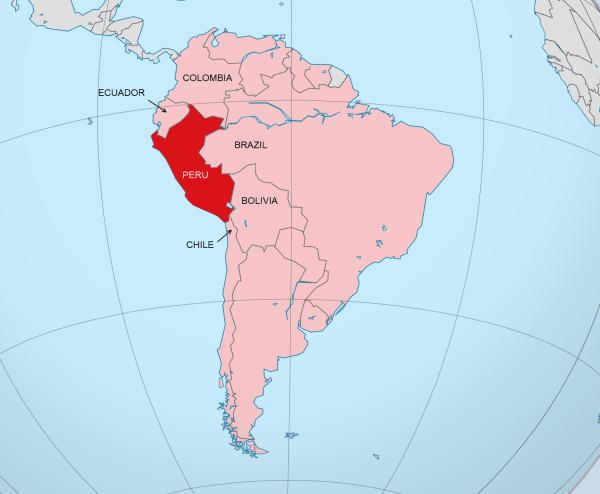 The 5 Countries That Border Peru