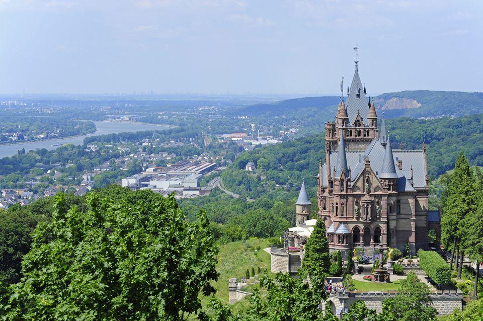 modern german castle of