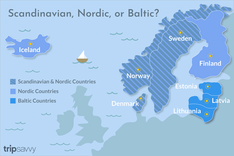 What Countries Make Up The Scandinavian Peninsula