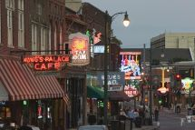 Guide Bars And Clubs Beale Street In Memphis
