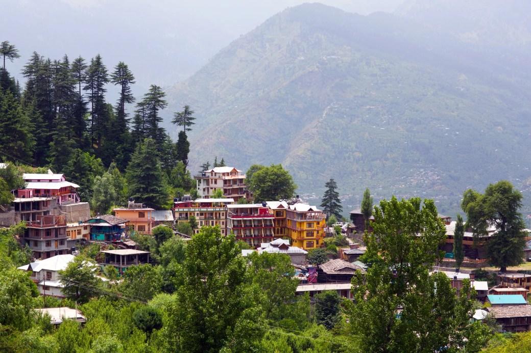Landscape of Vashist village