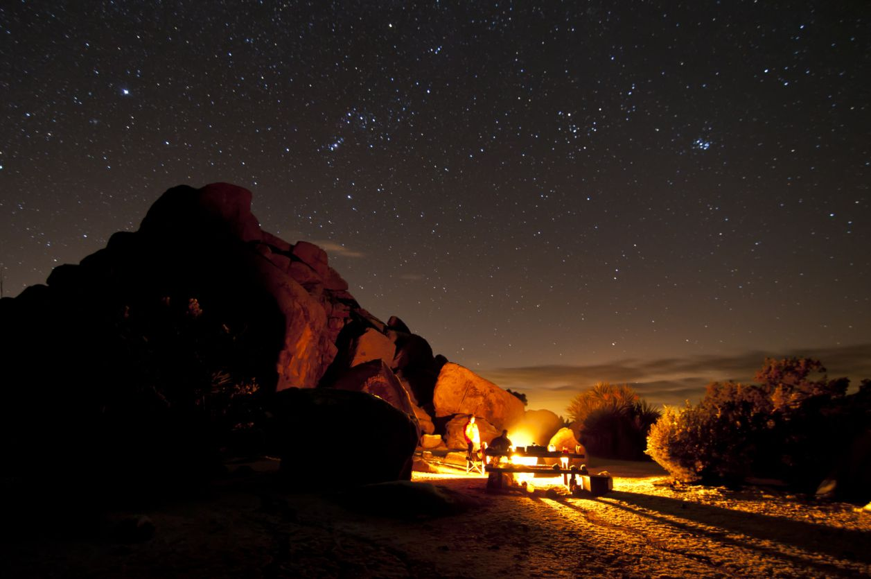 Starry Fall Night Wallpaper 20 Rv Campsites And Dark Sky Parks For Stargazing