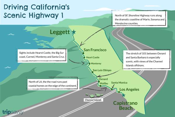 Driving California39s Scenic Highway One