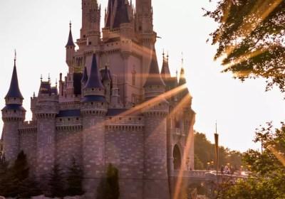 Cinderella Castle in the Magic Kingdom