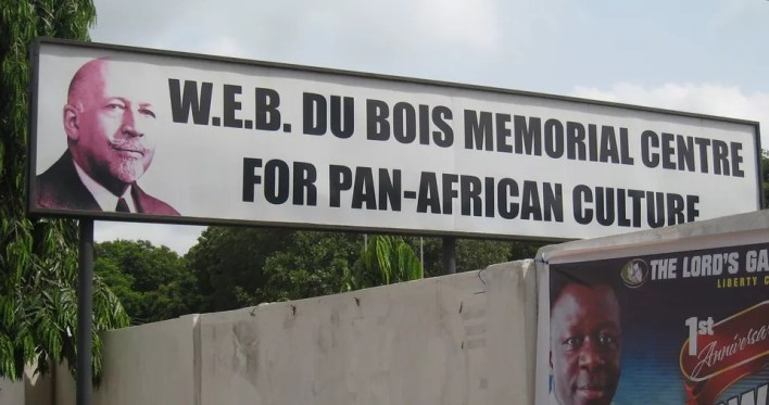 W.E.B. Du Bois Memorial Center in Accra, Ghana