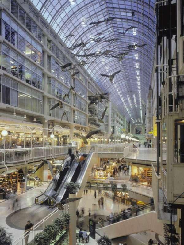 Toronto Eaton Centre Visitor Information