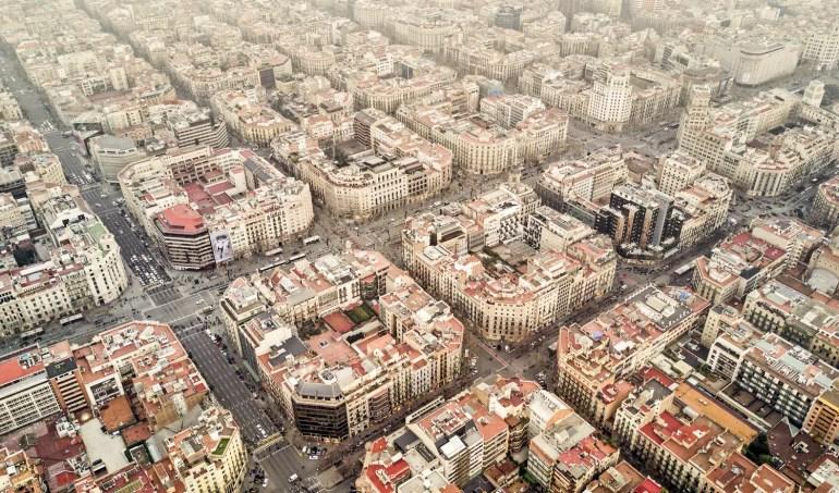 Eixample neighborhood, Barcelona