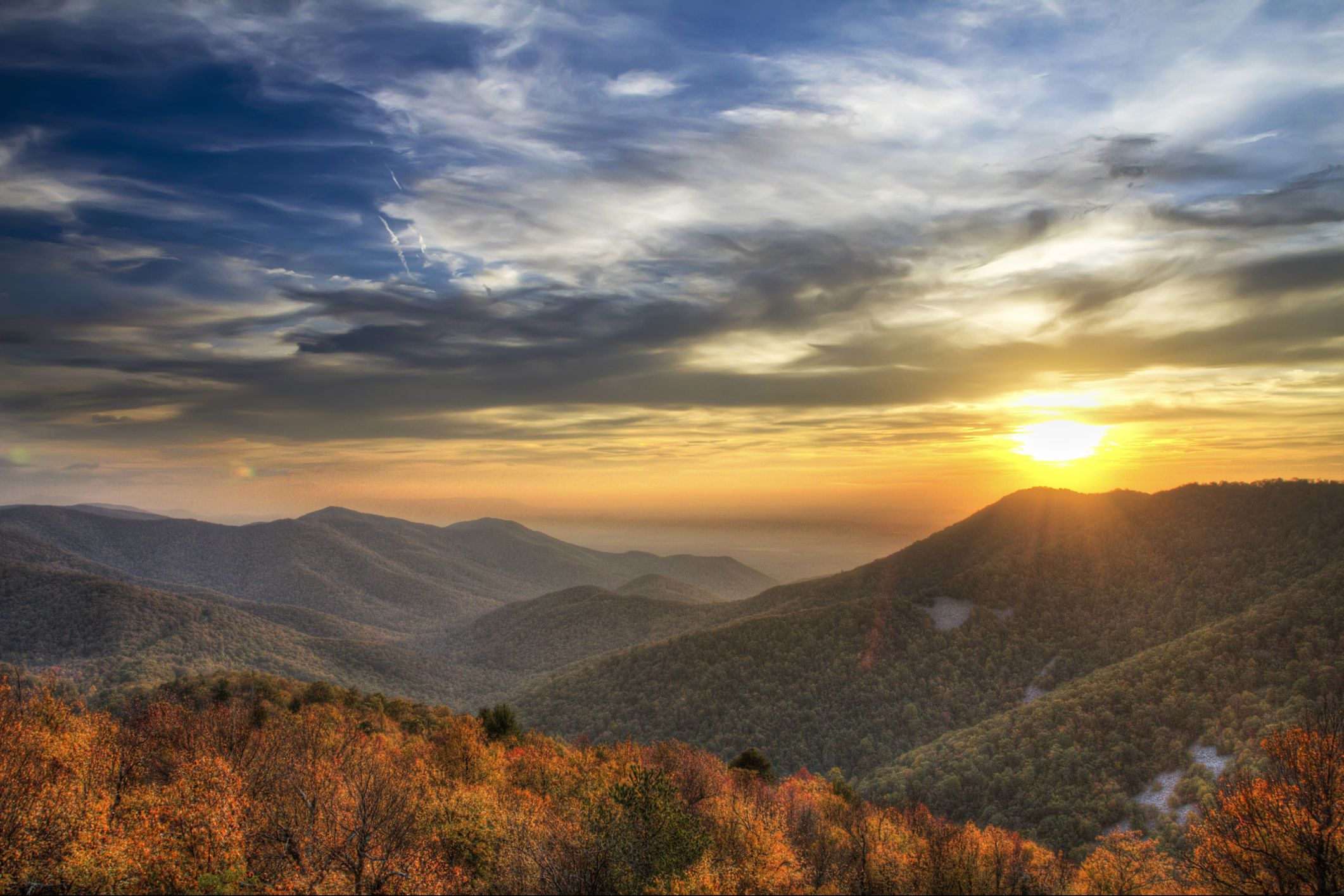 Majestic Fall Wallpaper A Visitor S Guide To Shenandoah National Park