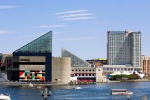 Baltimore Inner Harbor Maryland