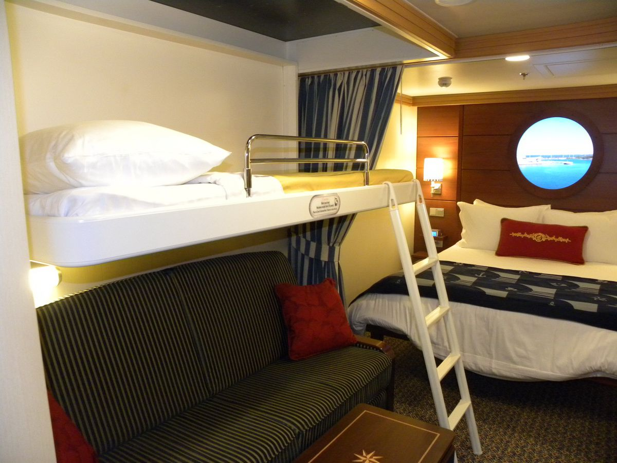 disney dream sofa bed round pillows cabins and suites