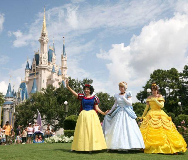 Image Of Disney Princesses At Walt Disney World