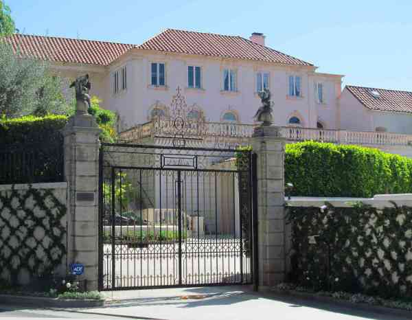 famous mansions in los angeles