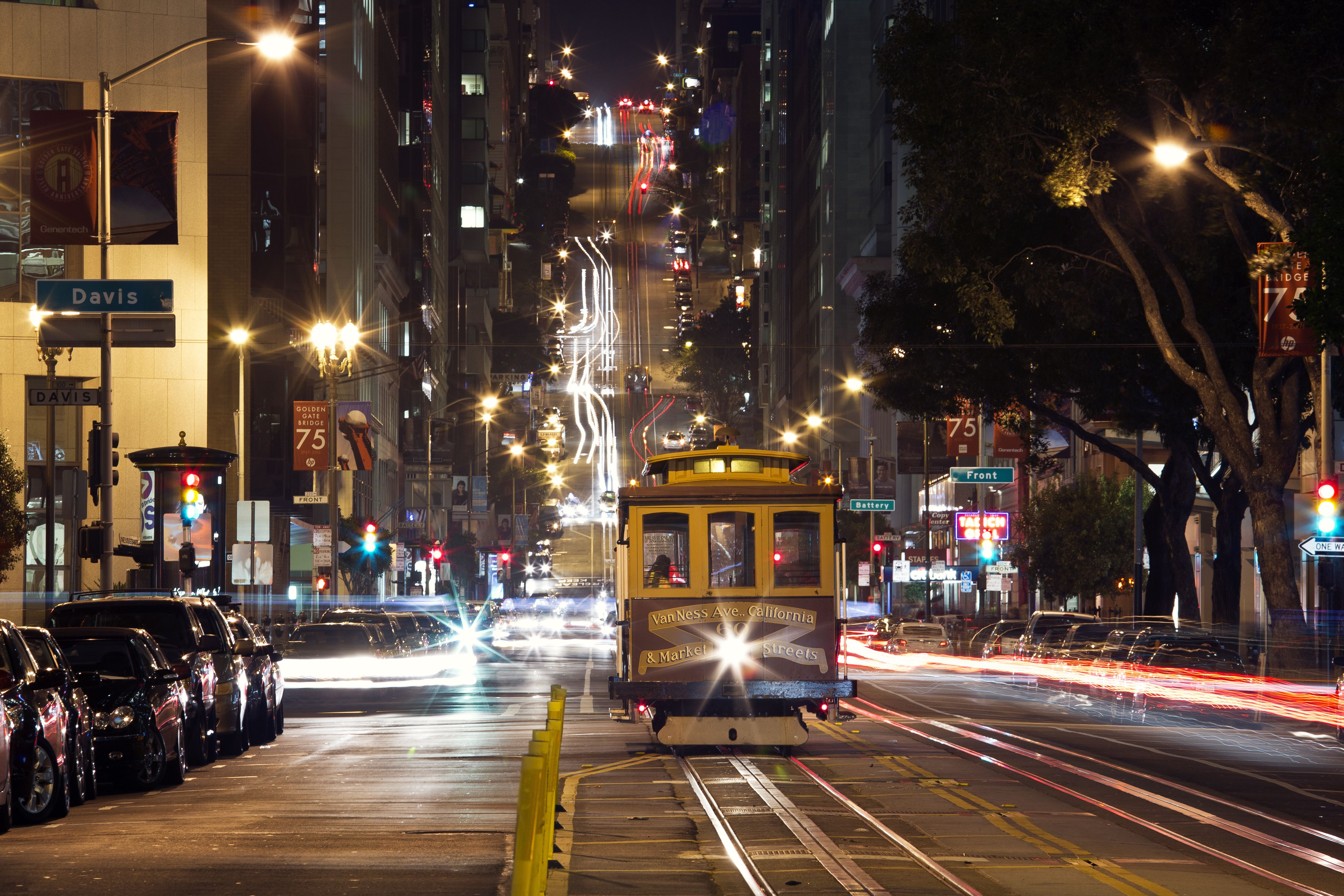 Cable San Cars Fransico