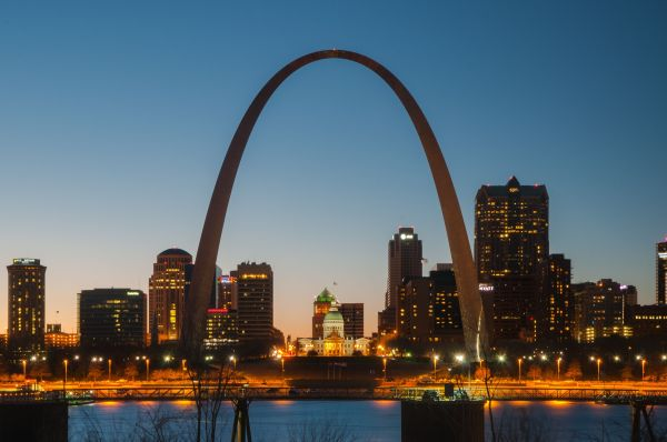 Visiting Gateway Arch In St. Louis