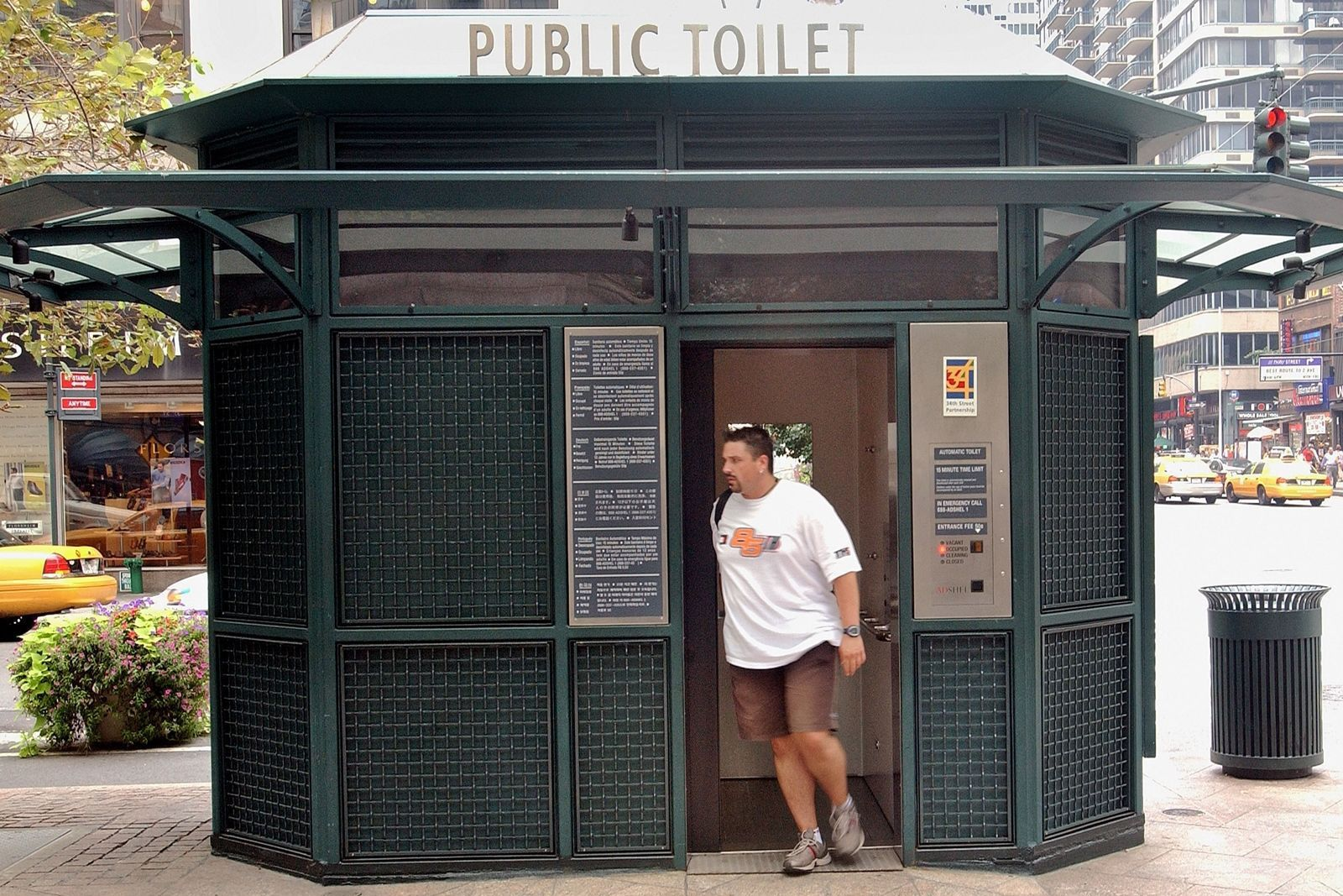 Where To Find Clean Bathrooms In New York City