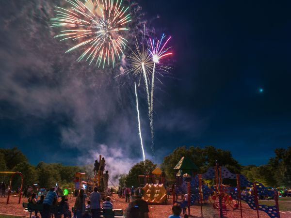 Gaithersburg Maryland' Fourth Of July Fireworks