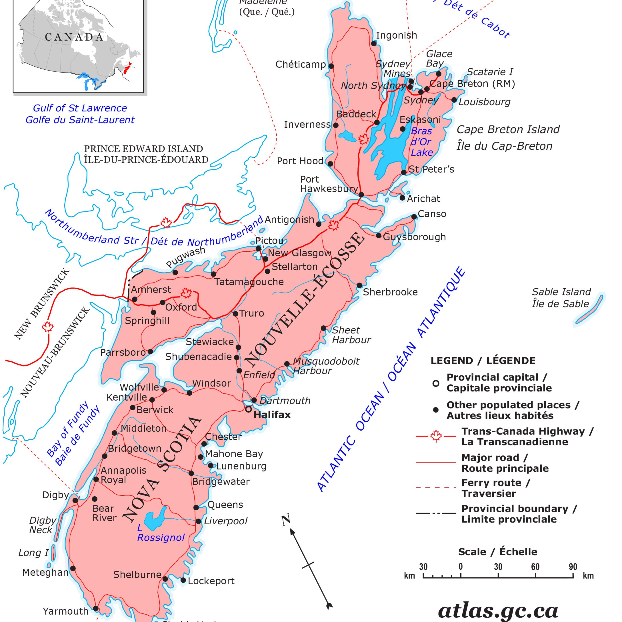 List Of Canadian Provinces In Alphabetical Order