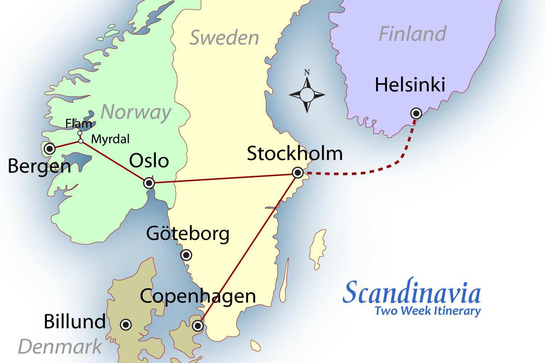 Scandinavia Suggested Itinerary
