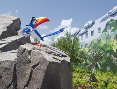 Lion King Wing, Disney's Art of Animation Resort