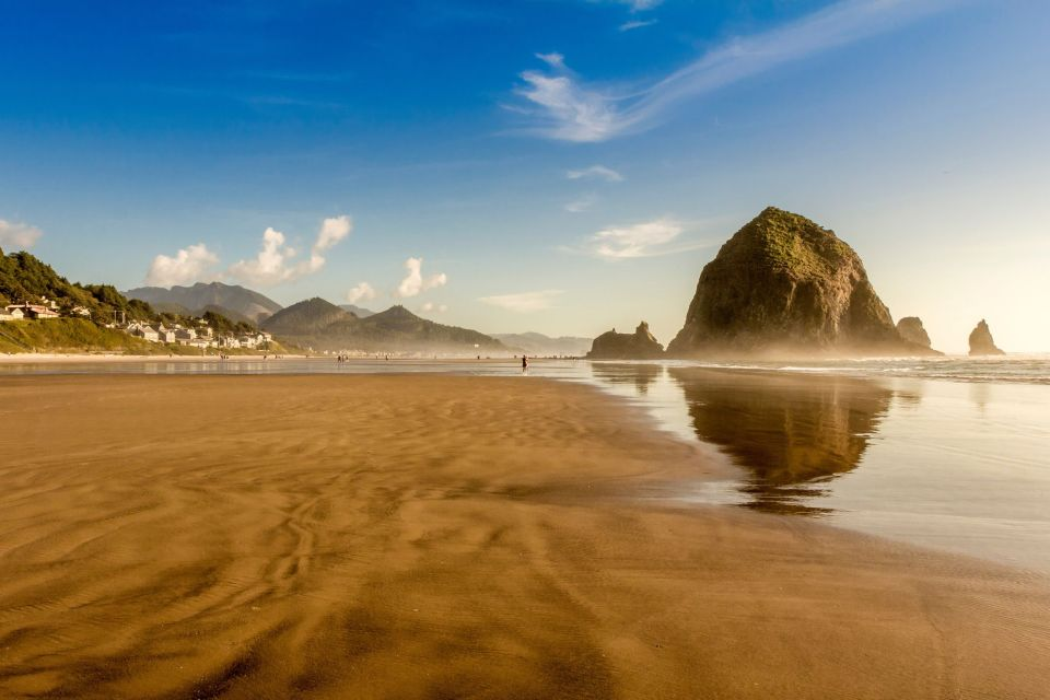 Cannon Beach, the best scenic road drives in Oregon