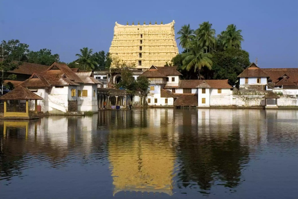 Sri padmanabhaswamy temple, thiruvananthapuram.