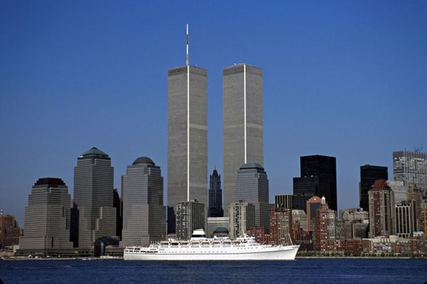 Twin Towers Of World Trade Center