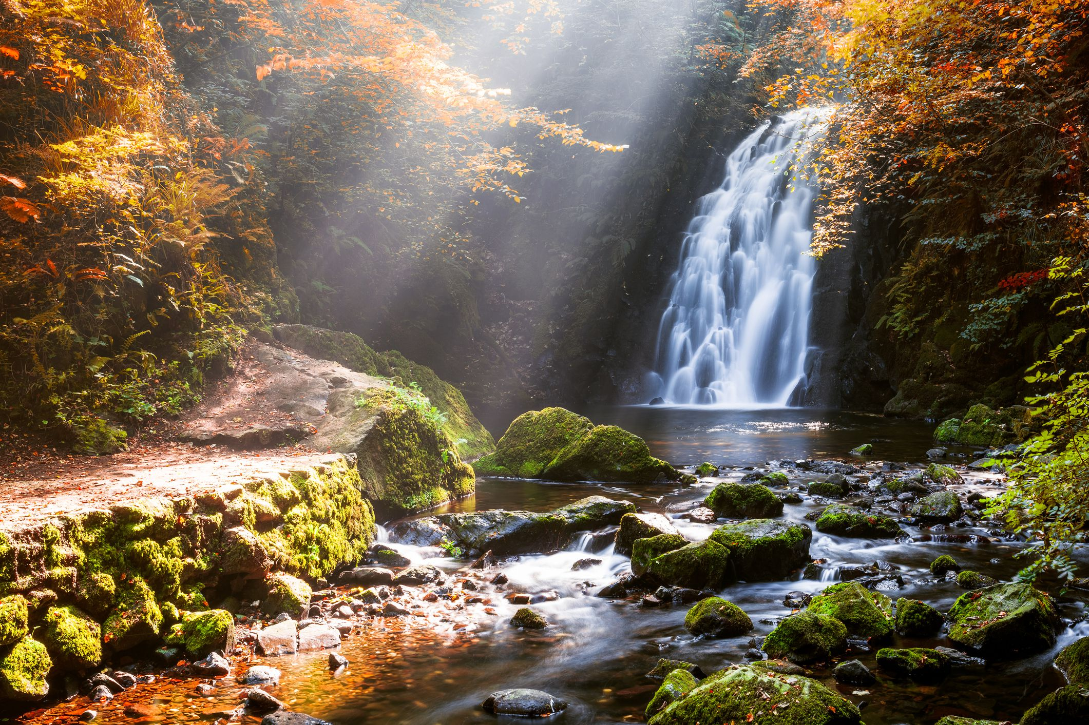 Amazing Falls Wallpaper The Most Beautiful Waterfalls In Ireland