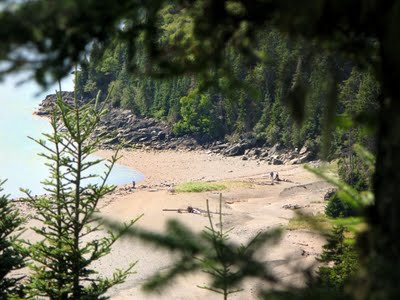 Bay of Fundy hiking.