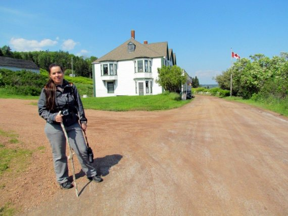 After our hike up to Partridge Island we enjoyed a visit to the Ottawa House at Parrsboro
