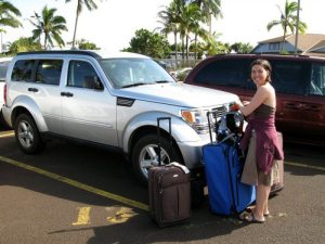 This awesome silver Dodge Nitro was our chariot of fire on the Island! Dollar Car Rentals provided a clean and fast machine for a good price! Vrooom! This bad boy had serious acceleration and good passing power!