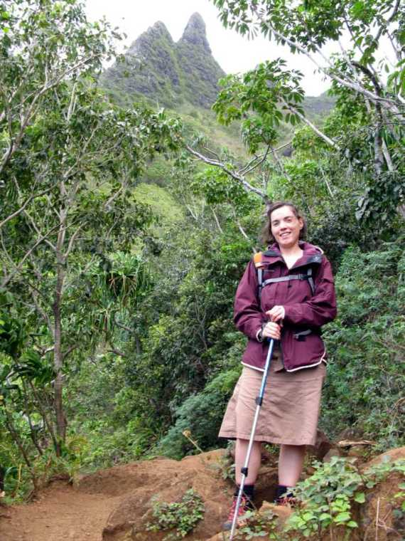 Proper hiking gear for the Napali Coast Trail is required! The trail is well marked but requires a serious attitude!