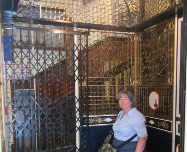 Maritime Museum Birdcage Elevator Travels Trips & Tails