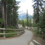 Path to Banff Hot Springs