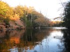 Nova Scotia - Mersey River Chalets - West Branch  Canoe Fall Colors