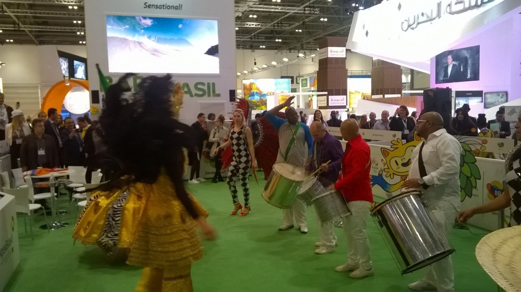 Brazilian Booth at WTM 2015