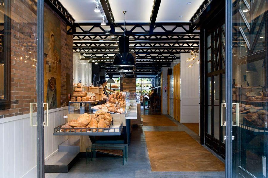Hotellin yhteydessä toimii maineikas leipomo © Praktik Hotels