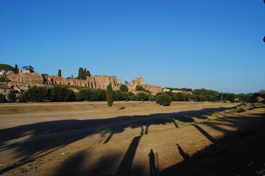 Circo Massimo ja Palatinuksen keisaripalatsit © Mauro Sartori Flickr.com CC