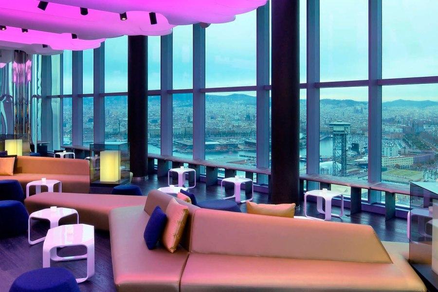 Eclipse Bar. © W Barcelona