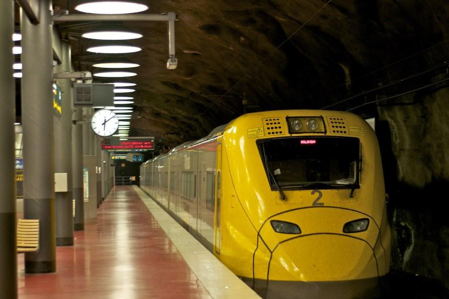 Arlanda Expressillä hurauttaa keskustaan 20 minuutissa. Kuva: Jonas Nordlund, www.flickr.com, CC BY-SA 2.0