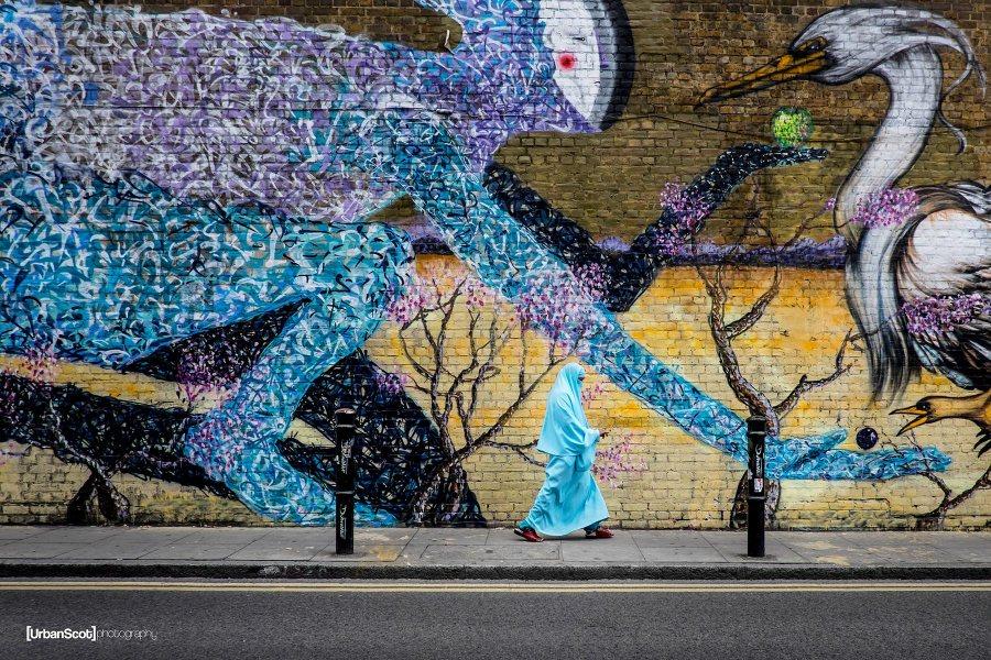 Katutaidetta Brick Lanella. Kuva: Peter McConnochie, flickr.com, CC BY-ND 2.0